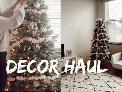 DECORATE WITH US ???? DECOR HAUL | Franceska Garza Vlog