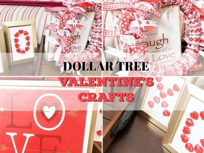 DOLLAR TREE DIY | VALENTINE DECOR | EASY VALENTINE CRAFTS