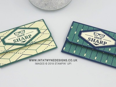 Easy Gift Card Wallet Using True Gentleman Suite