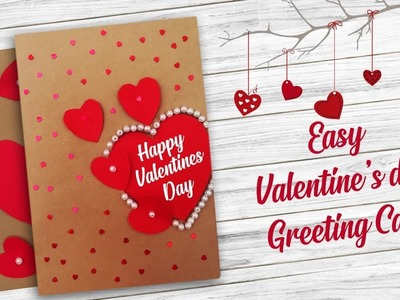 Easy Valentines day Greeting Card   DIY   Handmade Greeting Cards    Craftsbox