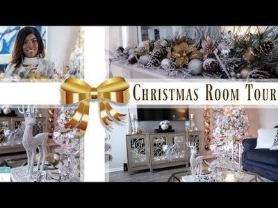 ✨Glam Home✨ GLAM CHRISTMAS ROOM TOUR 2018 | GLAM CHRISTMAS TREE