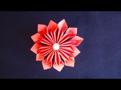 Paper Paper Flowers Rose Diy Tutorial Easy For Children Origami