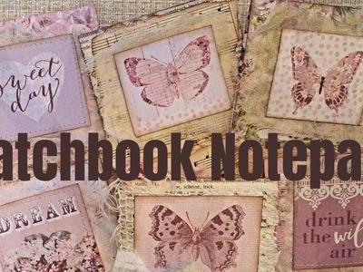 Matchbook Notepads for Junk Journals - Tutorial