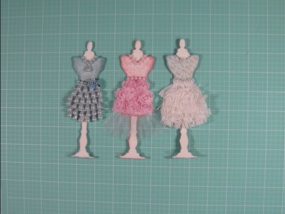 No Leftover Scraps Episode # 9 (Shabby chic dress forms and fan embellishments)
