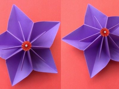 Making Paper Flowers How To Make A Paper Flowers Easy Making
