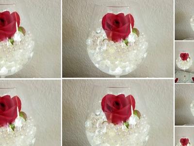 ROMANTIC VALENTINE CENTERPIECE | QUICK AND EASY DIY | UNDER $10.00