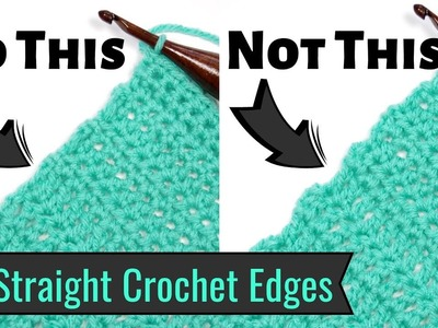 Use the Chainless Starting Stitches to Give Your Crochet a Perfectly Straight Edge! | Yay For Yarn