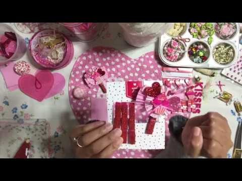 #4 Valentine's???? Day Series Series 2019 - DIY Altered Clothespins - Valentine's Day Embellishments