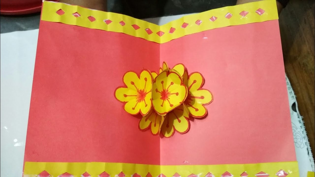 Pop Up Karte Muttertag.Basteln Pop Up Karten Basteln Mit Papier Diy Geschenke Bastelideen