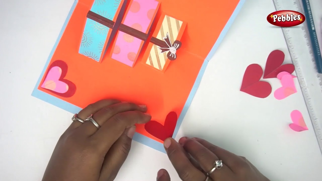 Beautiful Birthday Greeting Card Idea | DIY Birthday card.complete tutorial.Very Easy pop up cards