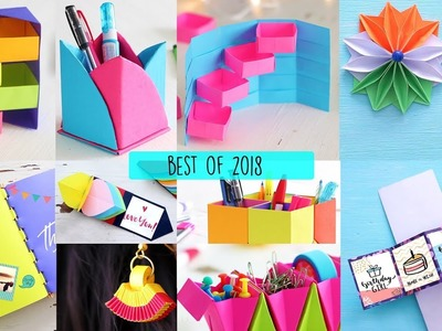 Best Of 2018 | Art All The Way | DIY VIdeos