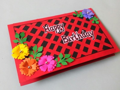 Birthday Greeting Crad Making | Birthday Card | DIY | How To Make | Creative Craft |By Punekar Sneha