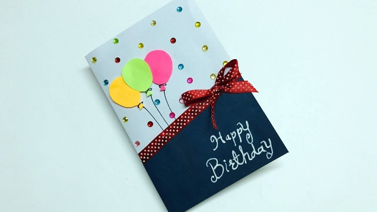 Birthday Pop up Card | Beautiful Birthday Pop up Card Idea | DIY Birthday Card
