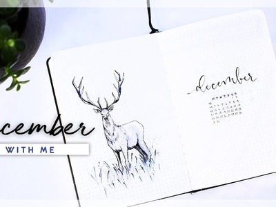 DECEMBER 2018 Plan With Me. Bullet Journal Monthly Setup