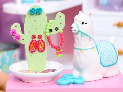 DIY Cactus Jewelry Holder Doll Craft