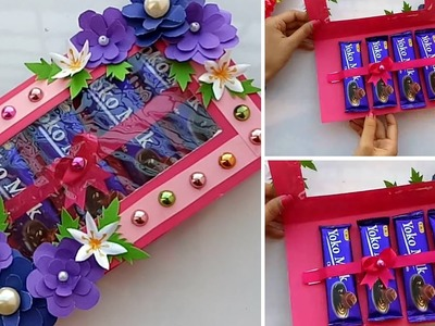 DIY Chocolate Card.Valentine Day Chocolate Card.How to make Card for Chocolate Day