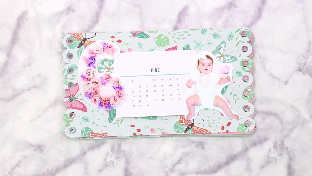 DIY Desktop Photo Calendar