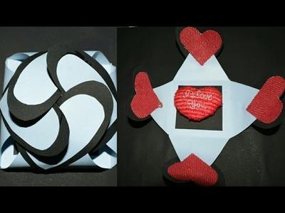 Sew Diy Greeting Card For Boyfriend Papercraft Latest Design