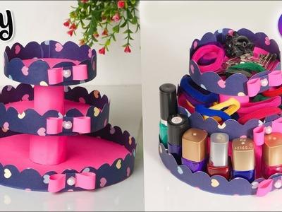 DIY Multi-Purpose Organizer | Best out of waste  | Room decor 2019 || Artkal