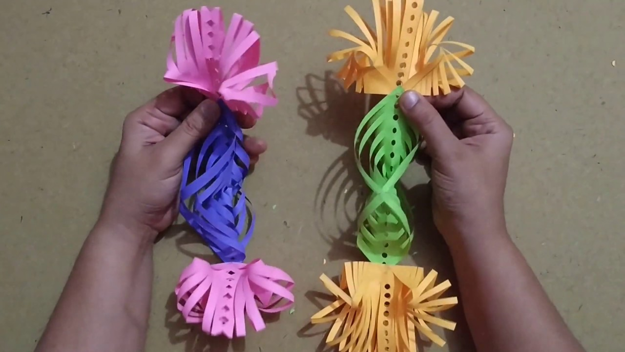 DIY.paper craft.New year Decoration ideas