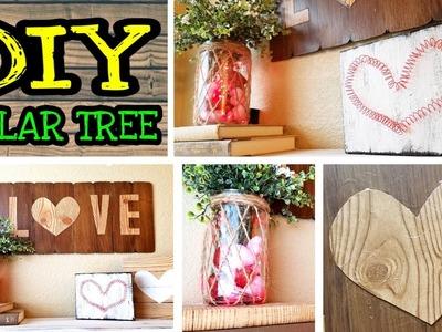 Dollar Tree Valentines DIY Rustic Decor