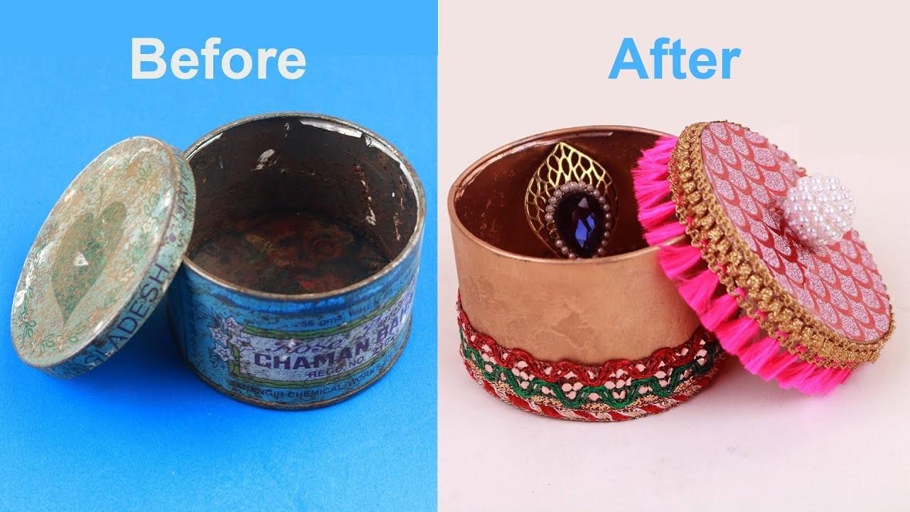 Easy #BestOutofWaste Craft - Amazing Way to Reuse waste materials #DIY Jewelry Organizer