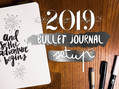 HOW I SET UP MY BULLET JOURNAL | Plan with me 2019