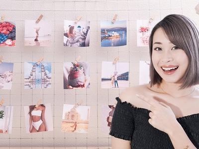 How to Make a Vision Board 2019 | DIY Grid Wall Vision Board
