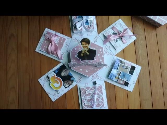 Ideas Explosion Box. ideas gift. diy explosion box. diy gift
