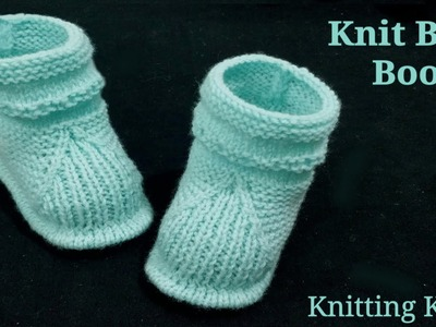 Knit Full Baby Set Step by Step for 3-9 months, Part 2 Cute Boots. Hindi.English Subtitles