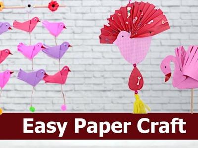 #PaperCraft #HomeDecor #Handcraft  Paper Bird | Wall Hanging Decoration Craft Ideas | Aloha Crafts