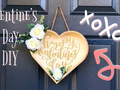 Valentine's Day DIY |  Target Dollar Spot DIY