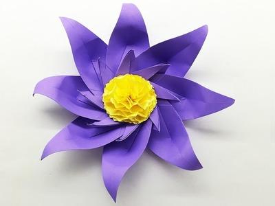 Beautiful Flower Making Tutorial | Decoration Ideas | DIY Paper Craft