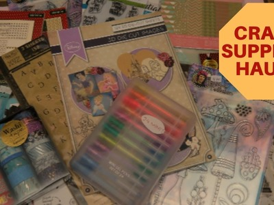 Craft Supplies Haul! ( Action and more)