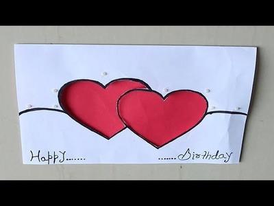 DIY - Beautiful Handmade Birthday card    Birthday card idea    Birthday Greeting Card
