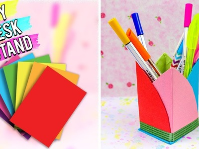 DIY Desk Stand | Best Out of Waste Art and Craft - Easy 5 Minutes DIY Craft Ideas.