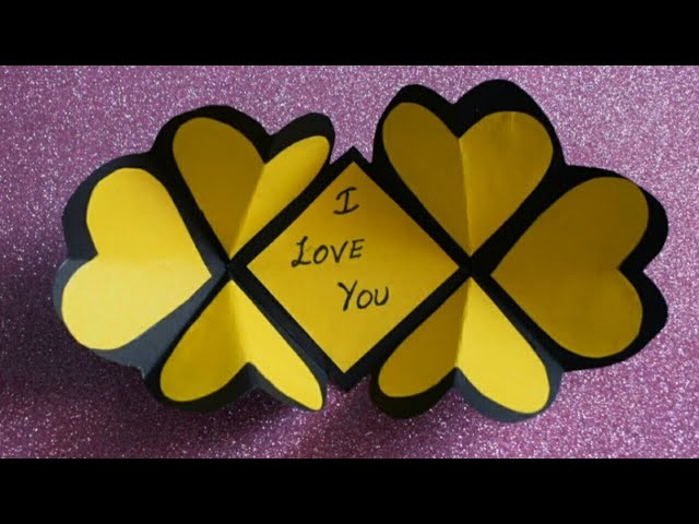 DIY Greeting Card For Boyfriend #PaperCraft Latest Design  #Craft #Ideas #HandMade #GreetingCards