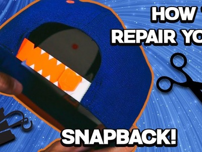 DIY How to Replace and Modify your Snapback Strap!