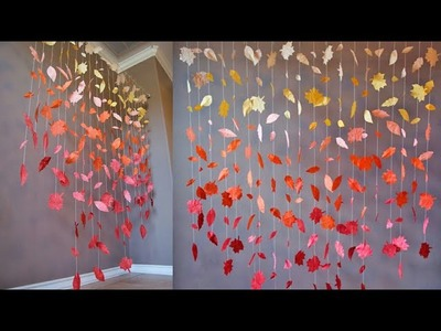 DIY Paper Door Hanging | How to Make Paper Hanging | Paper craft