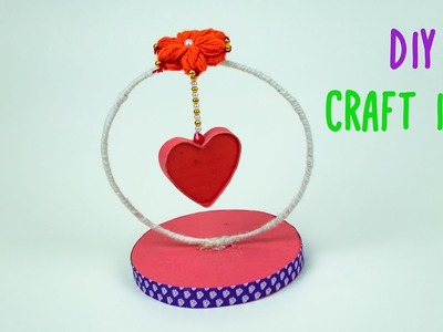 DIY Paper Heart Showpiece- How to make a paper heart Showpiece easy craft | Paper Craft