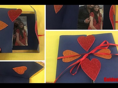 DIY Photo Greeting Card for Valentines Day