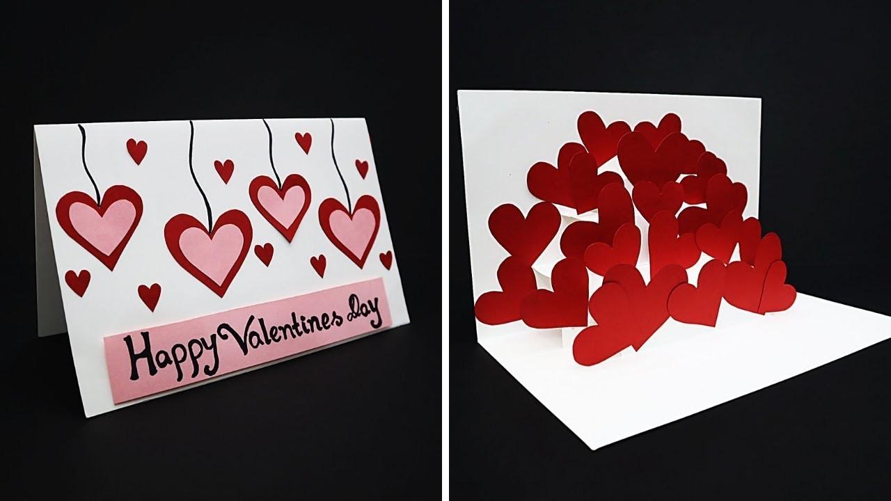 DIY Pop Up Love Card For Valentine's Day | Handmade Valentine Card