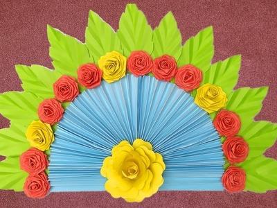 Easy Art And Craft With Paper | Easy Paper Crafts | Kagoj Diye Hater Kaj | DIY Kagojer Ful