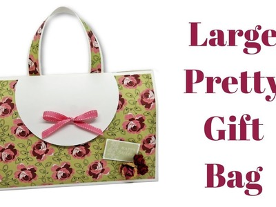 Large Pretty Gift Bag | Mixed Up Craft