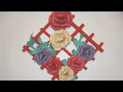 Easy How To Make Paper Tissue Flowers Tissue Paper Flower Craft