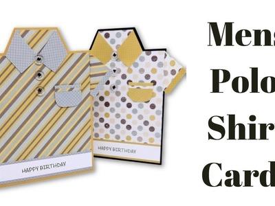 Men's Polo Shirt Card | DIY | Cardmaking