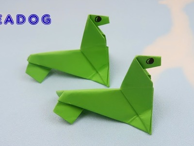 Origami Seadog - How to Make Seadog | Origami Tutorials | Paper Craft Ideas
