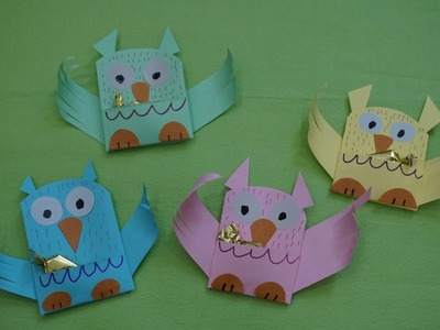 Owl Easy To Make Ideas For Kids || paper craft art