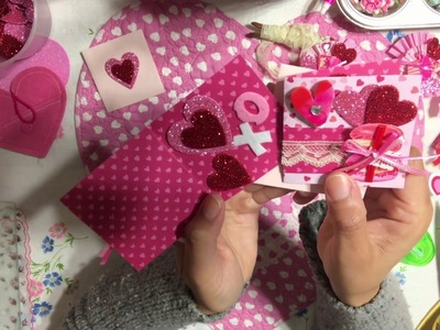 #5 Valentine's????Day Series 2019 - DIY Mini Notecard & Matching Envelopes
