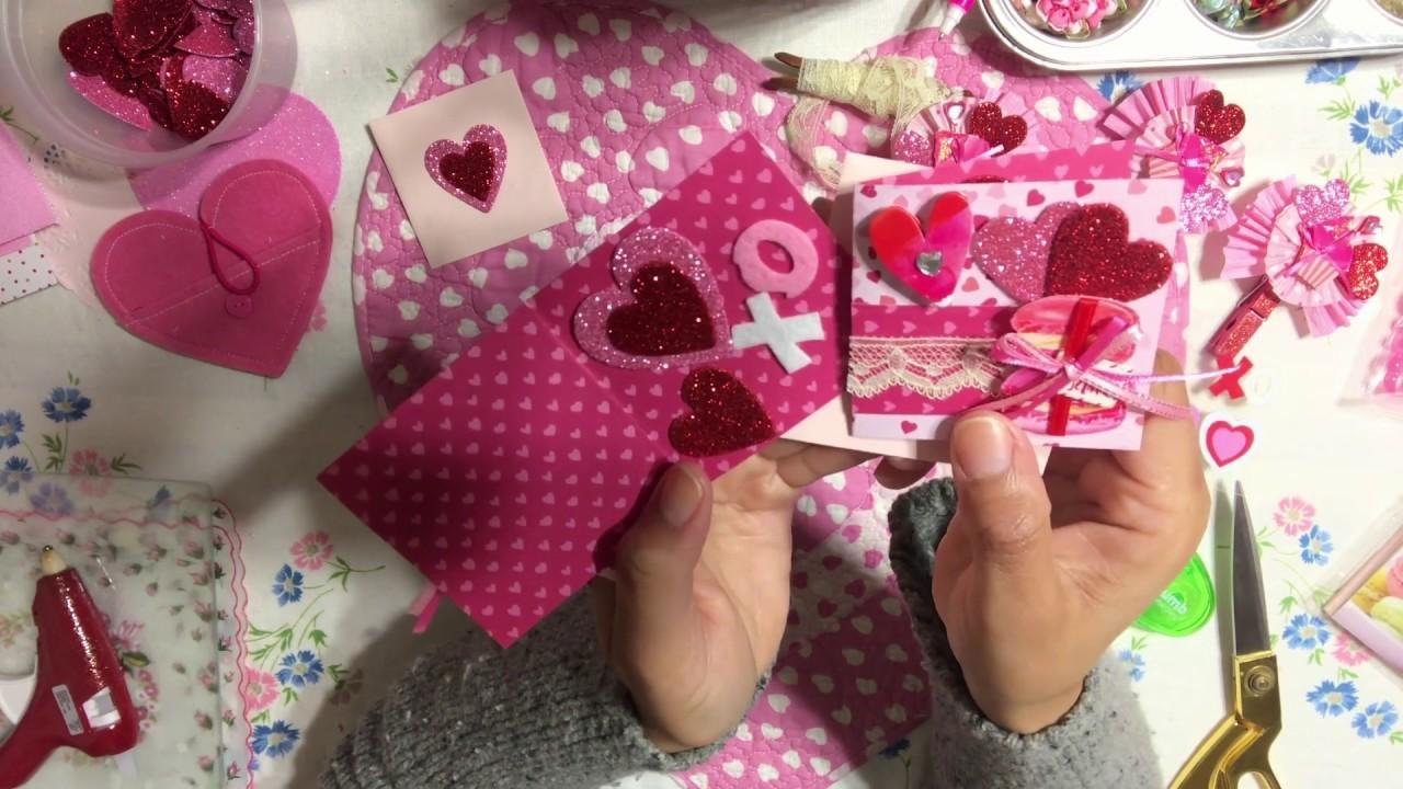 #5 Valentine's????Day Series 2019 - DIY Mini Notecard & Matching Envelopes